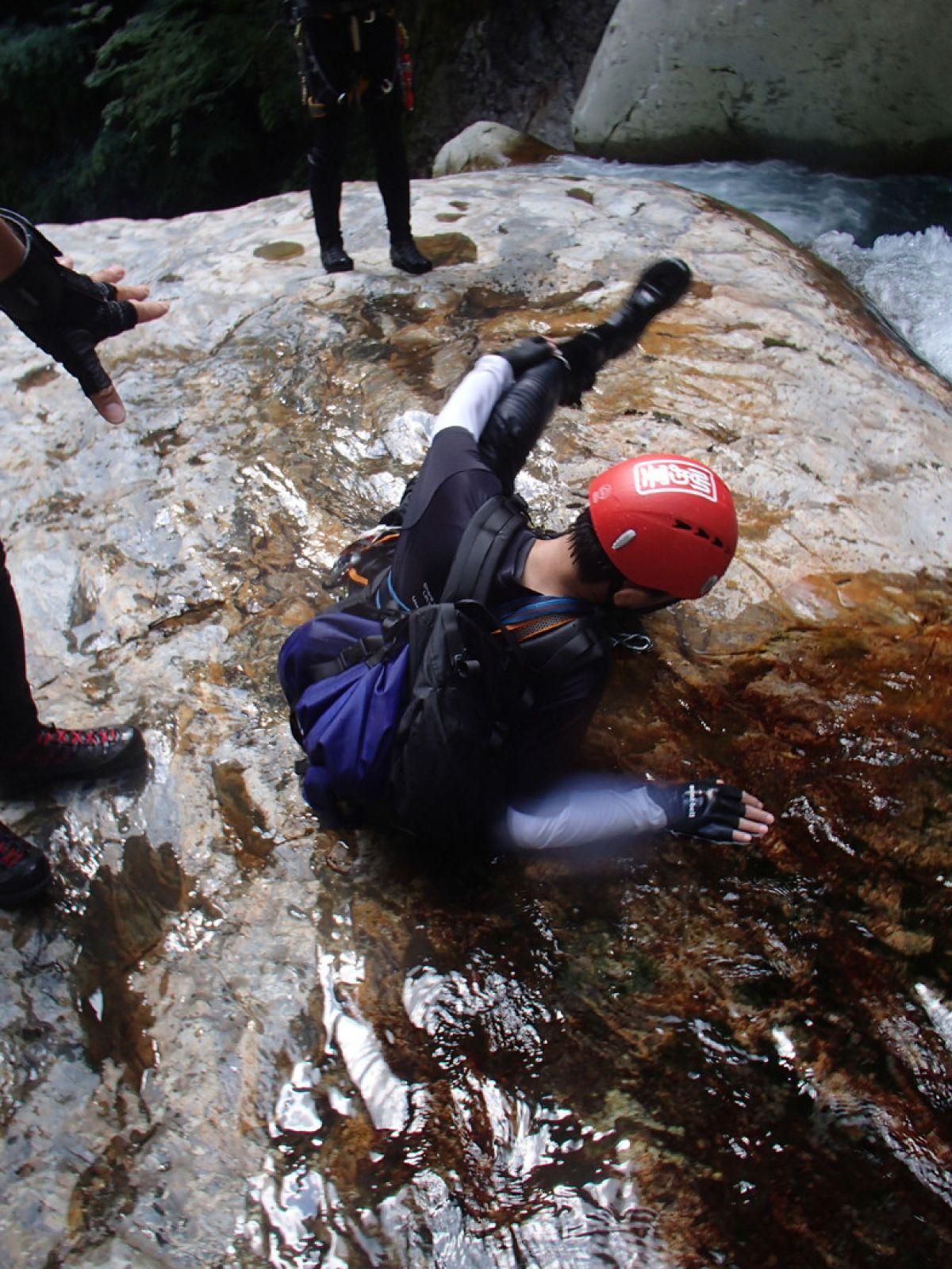 自分のツルッとを登山好人さん撮影・・・ グッドタイミング!?いやバッドタイミング!?