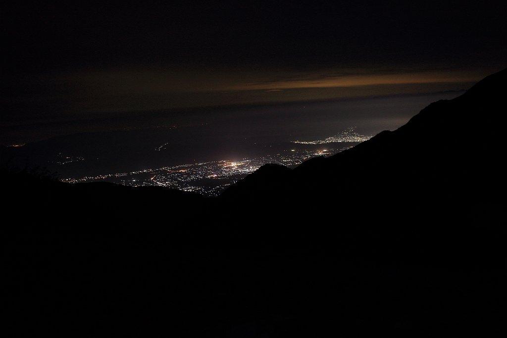 安曇野市街の夜景