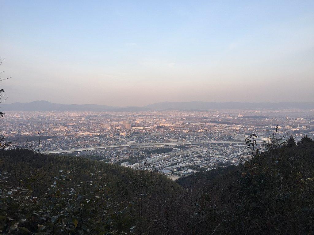 奥の山展望広場(旧:関電見晴台)からの展望