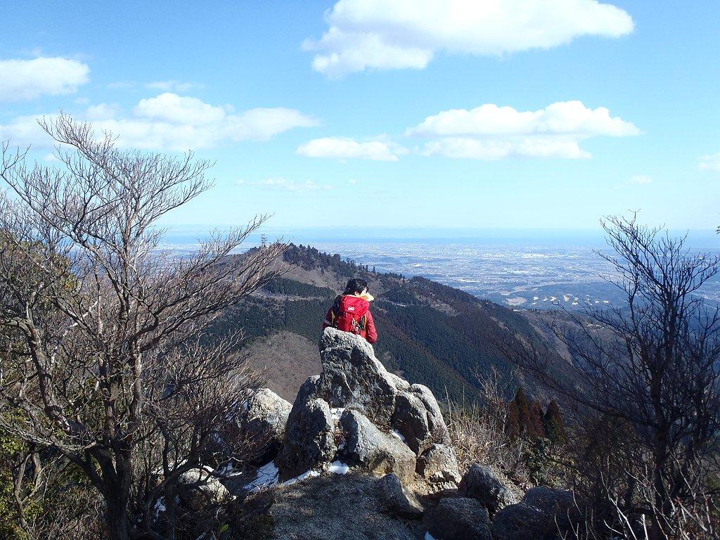 ひでぶーさんをモデルに隣の野登山