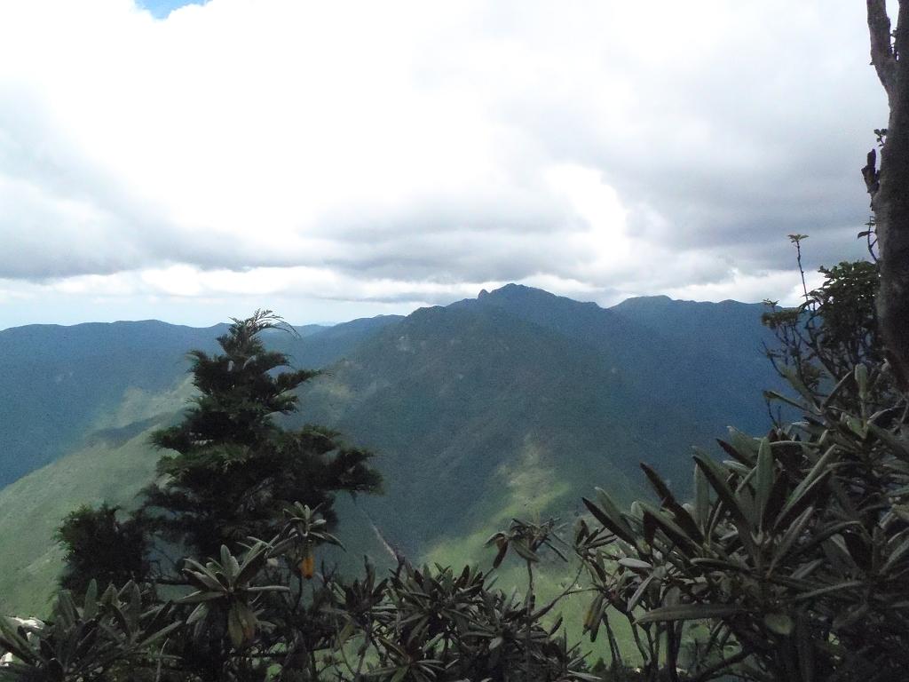 稲村ヶ岳方面
