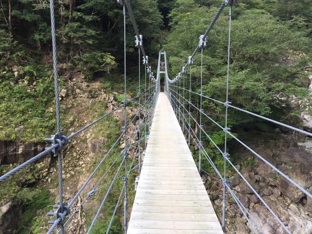 これはこれで迫力ある吊り橋だった