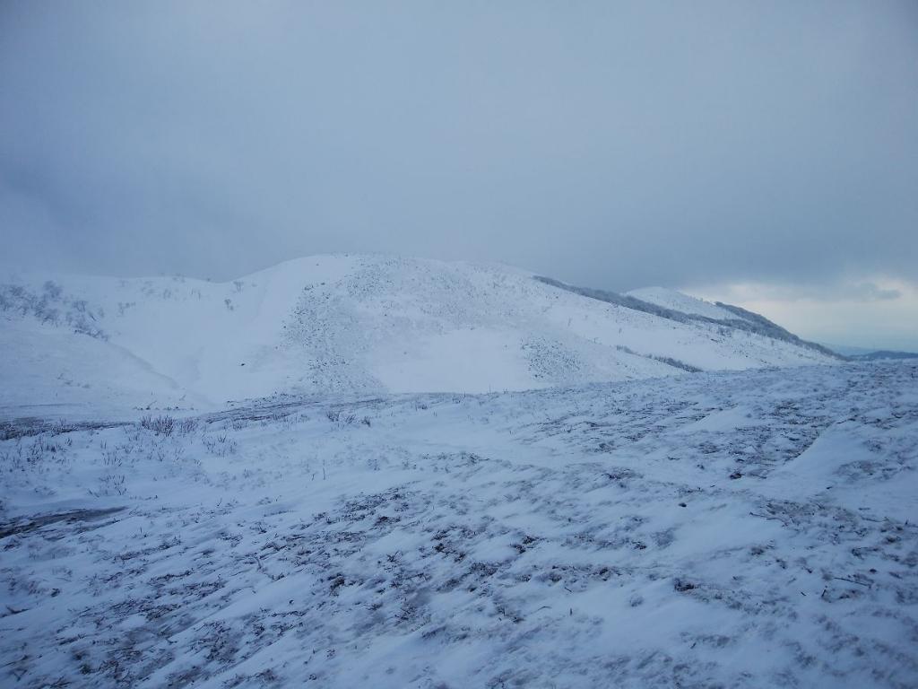 霊仙山側の稜線も見えてきた