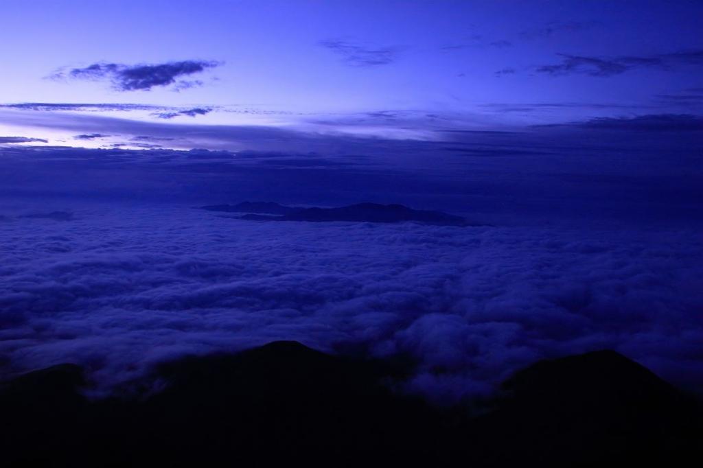 これは素晴らしい雲海だ。ヤバイ!