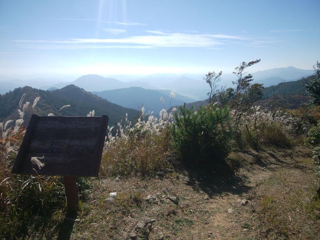 展望デッキ付近からも景色が見える。 それにしても天気が良い!