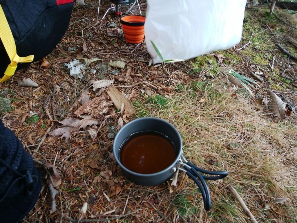 ひでぶーさんから紅茶をいただきました。ありがとうございました。風がビュービュー吹いてたのでかなり温まりました。感謝m_ _m