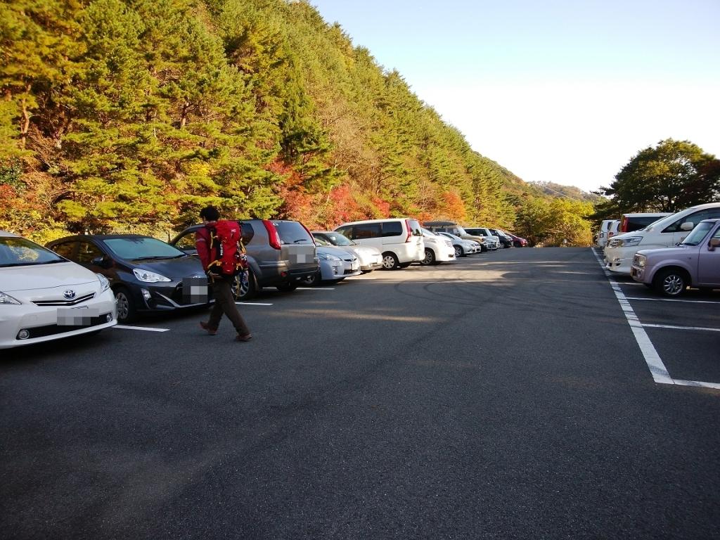 駐車場に戻りました。本日は深夜営業お疲れ様でした~