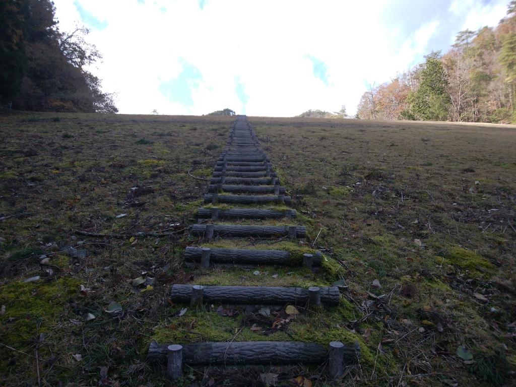 ここにきて、またすごい階段を登っていく