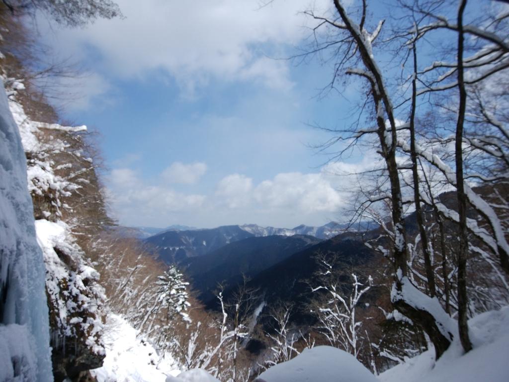 台高山地方面。天気がいいね~