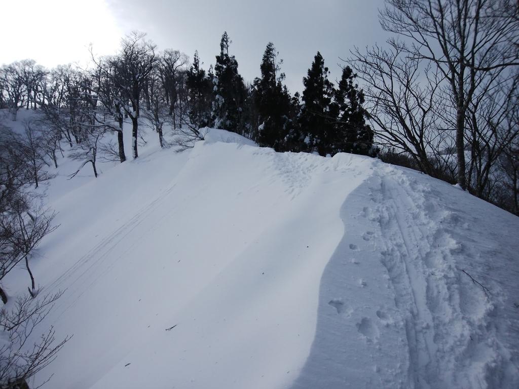 雪の量もすごい