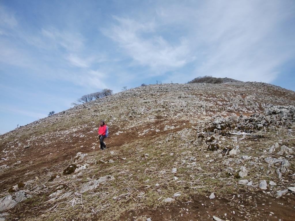 この急斜面を下ってきたけど、これ登りは大変だろうなぁっと思いつつ下る