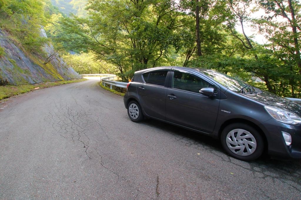 車まで戻ってきた。今日もお疲れ様でした。短い山行だったけど、たっぷり楽しめた