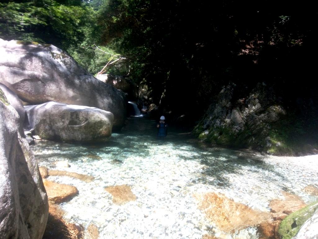 今年は水量もちょうど良くてかなり水が綺麗だ!!