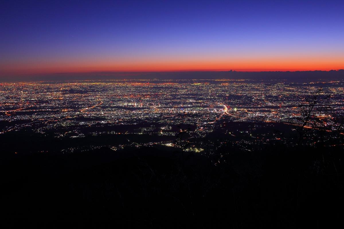 トワイライト夜景1