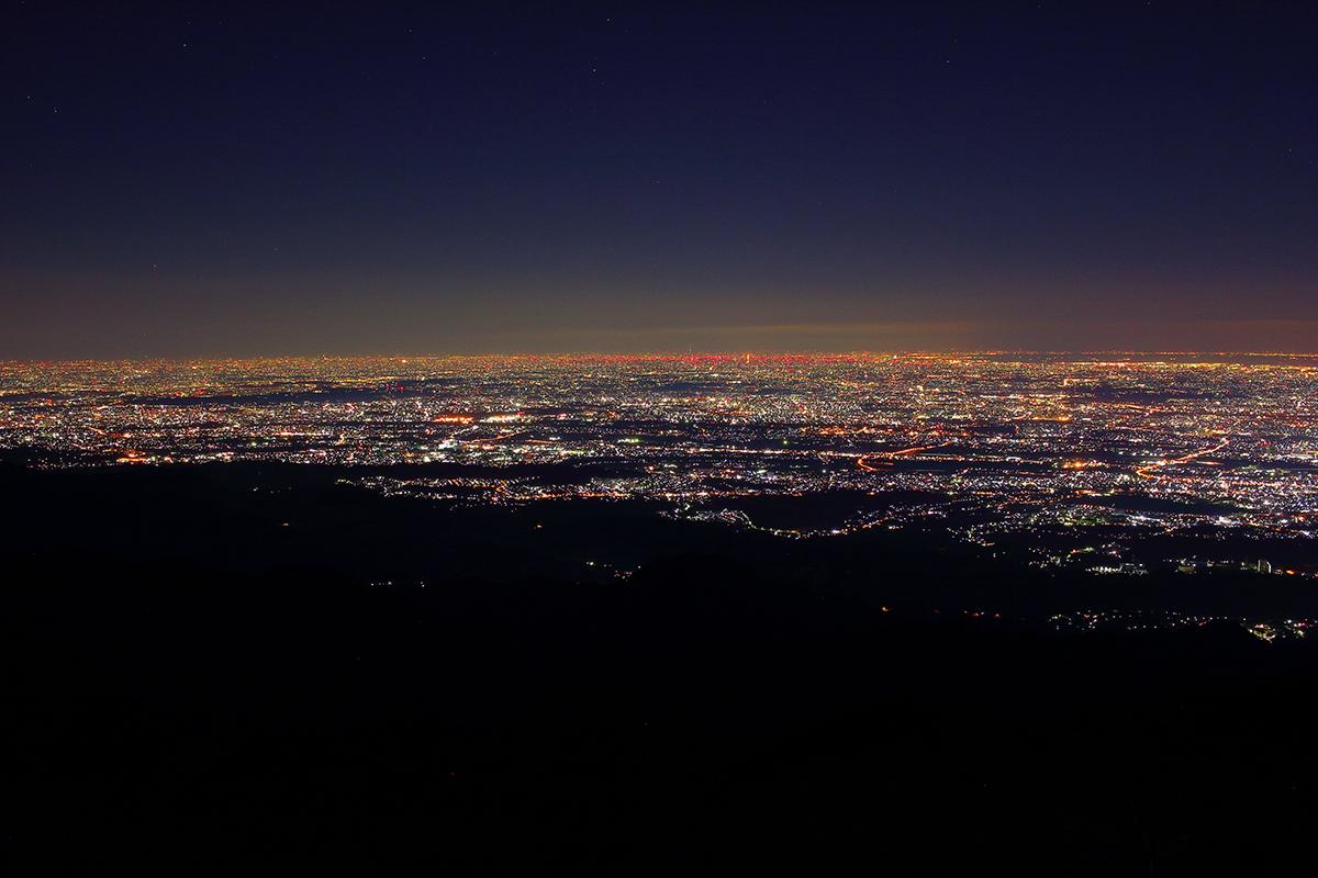 日没後の夜景2