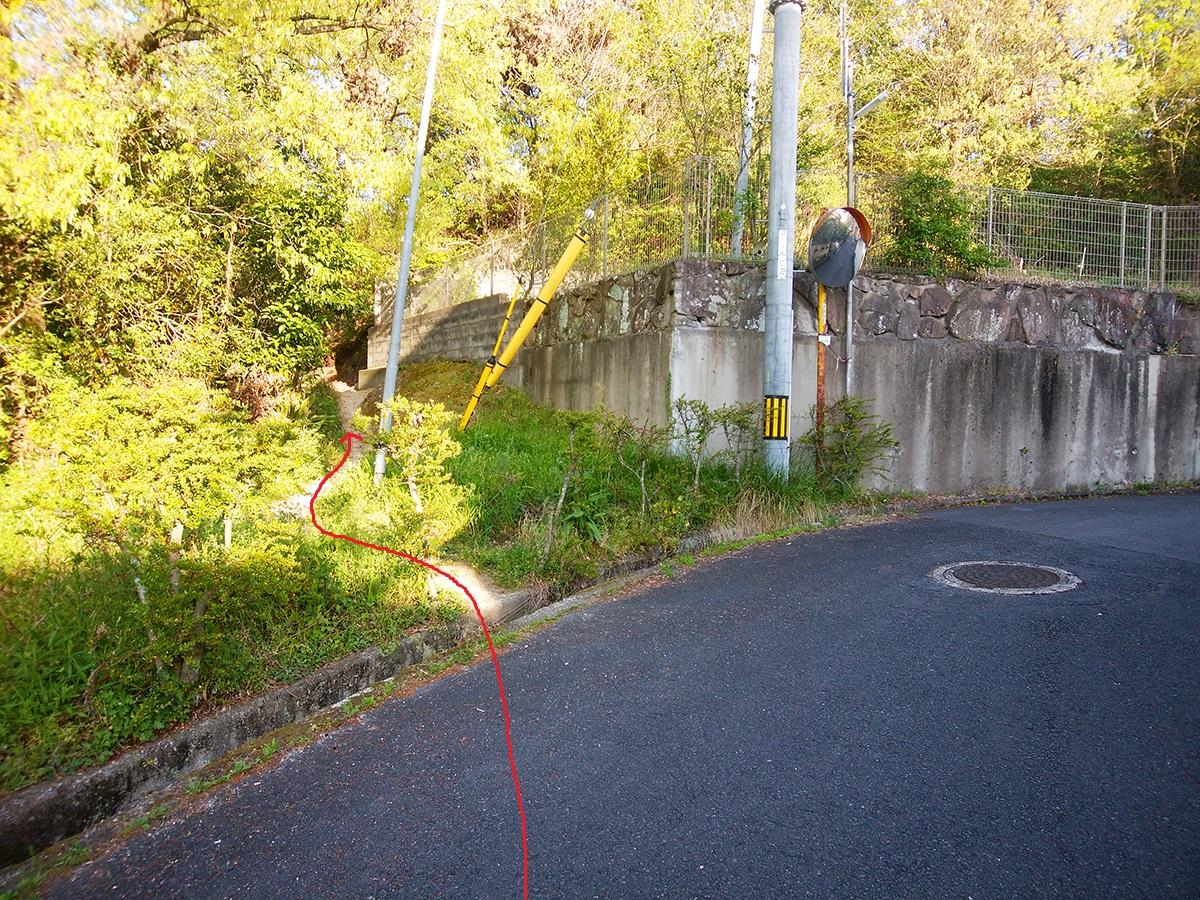 一蓋被の嶺ルート1