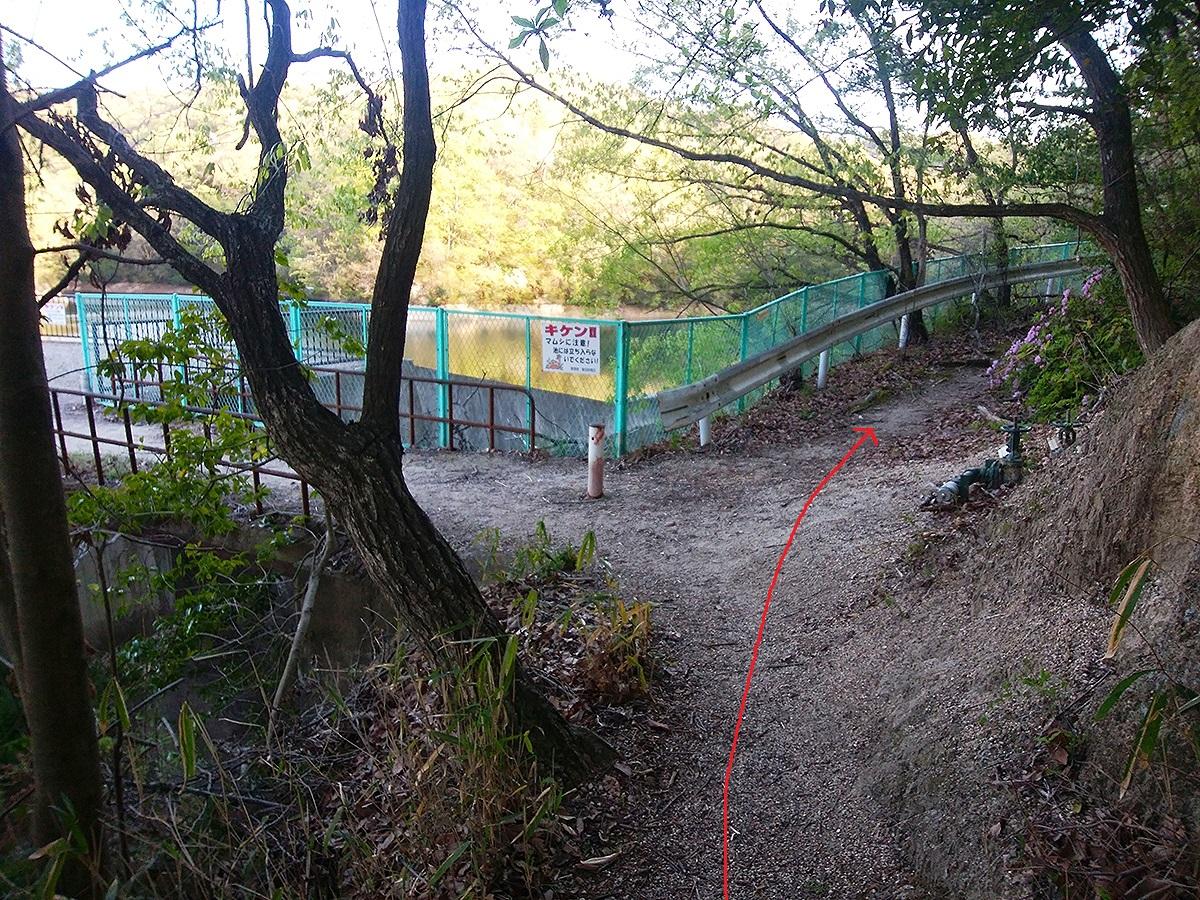 一蓋被の嶺ルート4