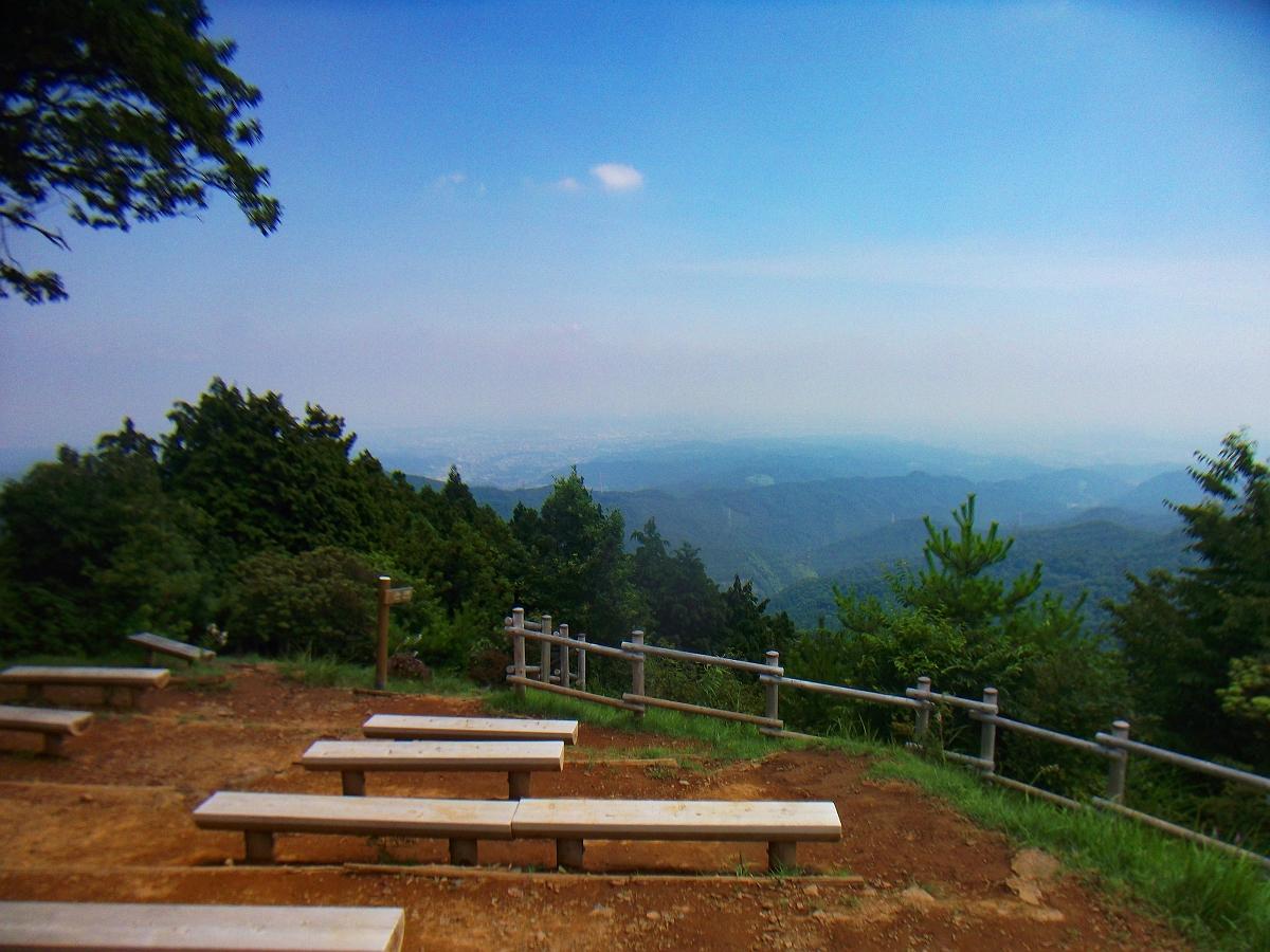 御岳山~日の出山