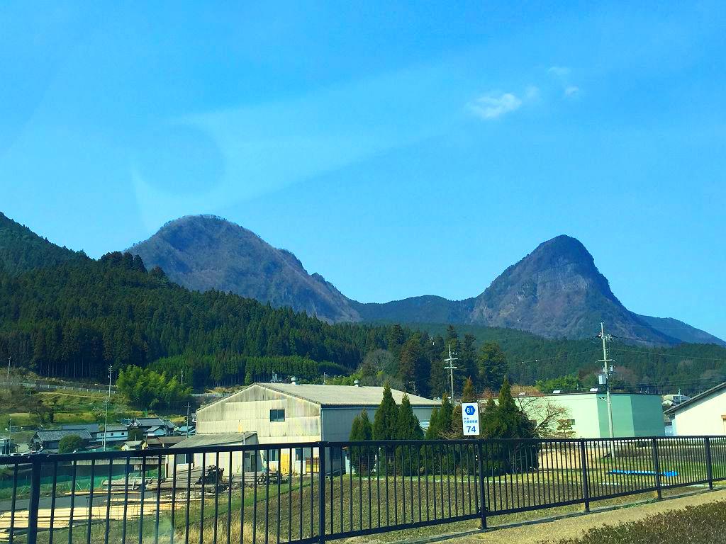 兜岳と鎧岳1