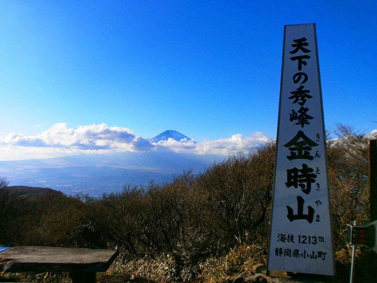 丸岳~金時山