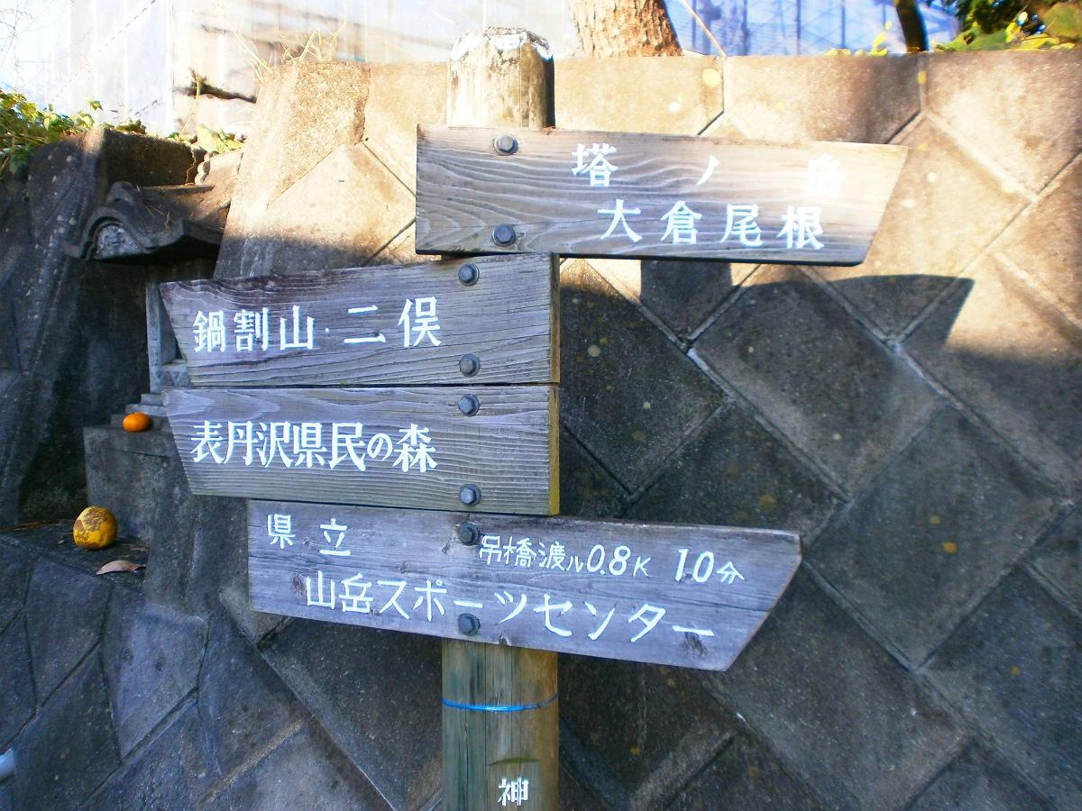 鍋割山・塔ノ岳3