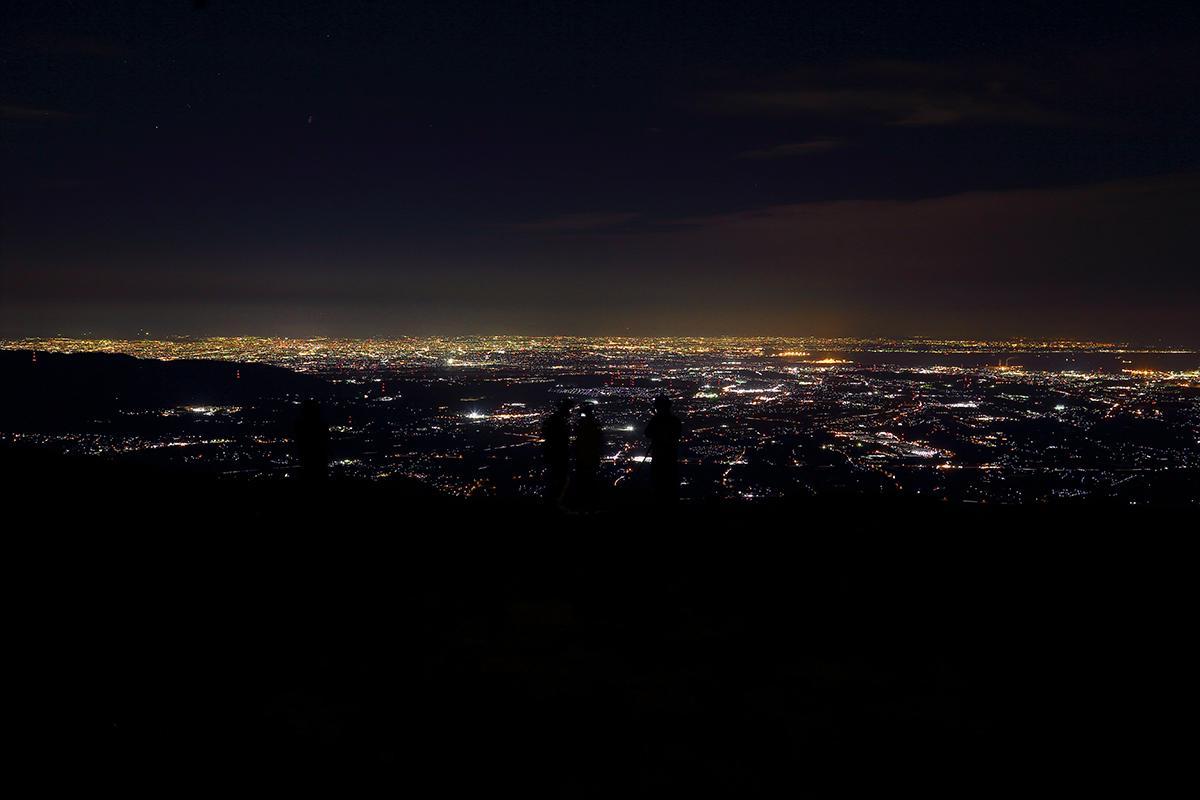 竜ヶ岳夜景1