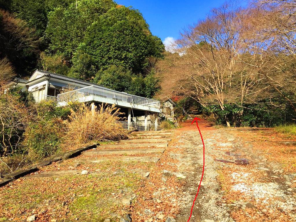 愛宕山ケーブル廃線跡ルート2